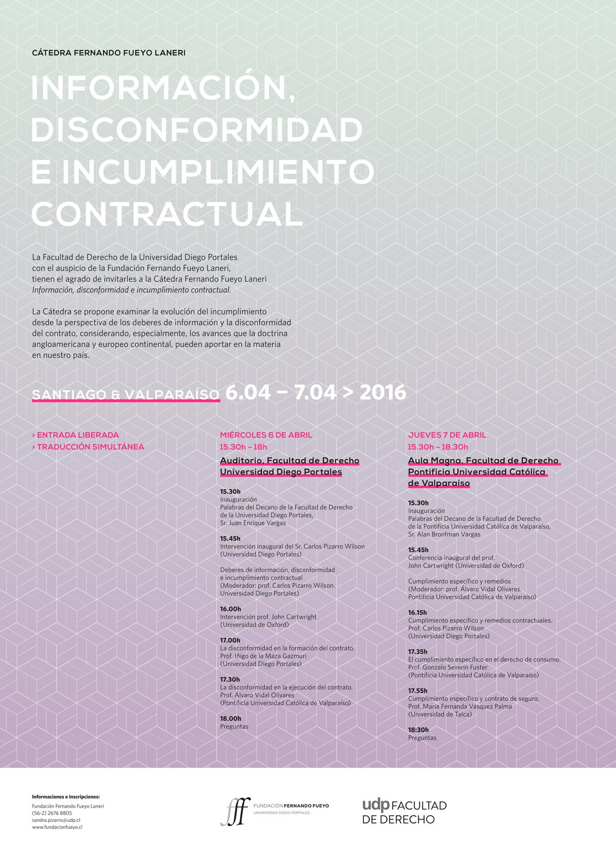 Afiche disconformidad e incumplimiento contractual